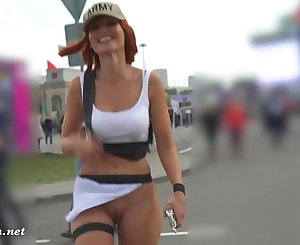 Jeny Smith public flashing compilation (January 2019)