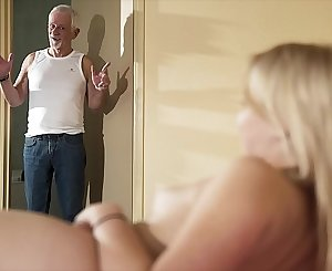 Hello grandpa please fuck my pussy and let me swallow jism