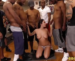 Karlee Grey Blows The Entire Boxing Club